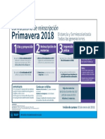 Calendario reinscripción Prim2018
