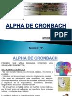 Alpha de Cronbach