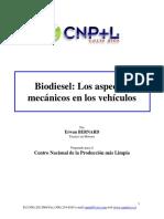 CNPML Costa Rica Biodiesel Aspectos Mecánicos Vehículos