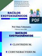 BACILOS EXOTOXIGENICOS