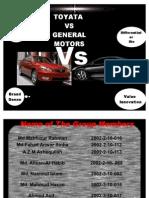 Toyota vs GM