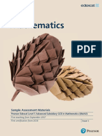 As l3 Mathematics Sams