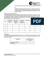 IHCYLT Final Portfolio Checklist for CPs 2012