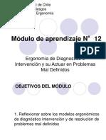 Modulo 12 Ergonomía de Dg. e Intervención