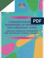 CEFR Handbook Secondary School