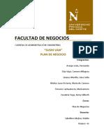 Informe de Plan de Negocios
