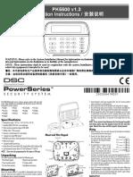 PK5500 v1-3 Install Instructions en-ch 29008941R001