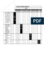 Cronograma de Actividades Equipo Negro