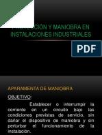 Protección y Maniobra en Instalaciones Industriales