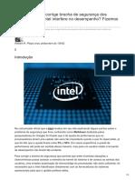 ware.com.Br-Atualização Que Corrige Brecha de Segurança Dos Processadores Intel Interfere No Desempenho Fizemos o teste