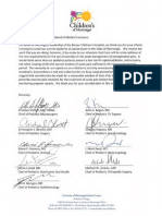 Peditatrician Letters Redacted