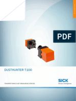 Data Sheet Dusthunter t100