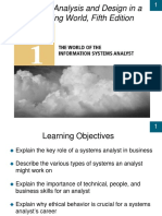 CH01_The World of the Information Systems Analyst, Fifth Edition
