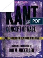 Kant, Immanuel - Late 18th-Century Writings on Race [Mikkelsen, Ed.] (SUNY, 2013)