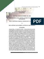 Congreso - Informe Final de La Comisión Intecoceánica