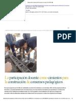 Elaboración Colectiva Del Proyecto Curricular en El IPET 260 Educarcba
