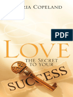 308005 Love-The Secret to Your Succes