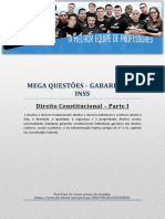 MEGA Questões 01 Constitucional - Focus - InSS