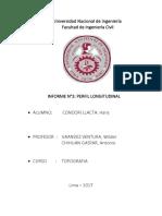 Informe 3 Perfil Longitudinal