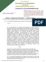 Emenda Constitucional Nº 41, De 19 de Dezembro de 2003