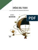 Barrow John D - Teorias Del Todo.doc