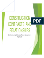 2-Construction Contracts Relationships