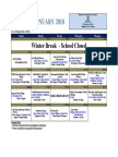 ES_Dining Hall Menu January 2018