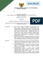 Keputusan Menteri Desa, Pembangunan Daerah Tertinggal Dan Transmigrasi No 83 Tahun 2017 Tentang Penetapan Pedoman Umum Program Inovasi Desa (Salinan)