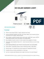 Solar Garden Led