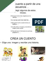 escribiruncuentoapartirdeunasecuencia-130314192723-phpapp02