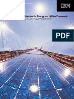 The IBM Solution Architecture for Energy and Utilities Framework