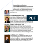 PILF 2017 Grantees Resized Headshots and Bios