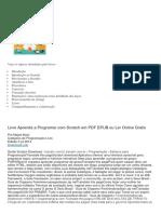 Livro Aprenda a Programar Com Scratch Em PDF EPUB Ou Ler Online Gratis