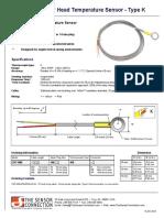 CHT-WS Sensor_Type K_Data Sheet_Rev 8