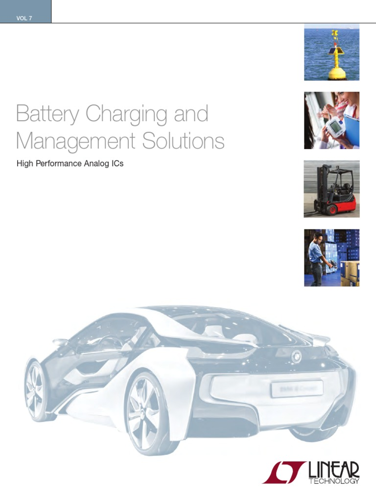 Linear Battery Charger Brochure 2016pdf Lithium Supercapacitor Electronic Project Using Ltc3625 Ic Ion