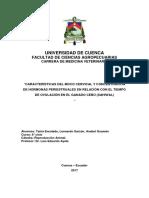 Características Del Moco Cervical y Concentración de Hormonas Periestruales en Relación Con El Tiempo de Ovulación en El Ganado Cebú Copia (1)