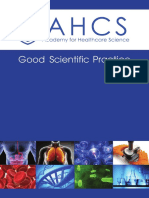 AHCS Good Scientific Practice