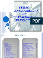 Manual Plataformas Elevadoras