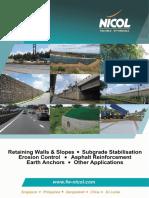 FW NICOL Geotechnical Brochure