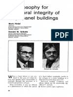 A Philosophy for Structural Integrity of Large Panel Buildings