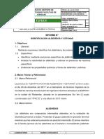 Técnica de Laboratorio Identificación de Aldehídos y Cetonas 1
