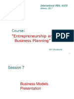 Business Models Presentation