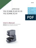 UserManual-KeyenceVK-X200K