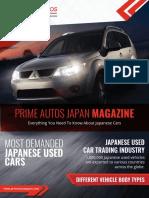 Prime Autos Japan Magazine- December 2017 Edition