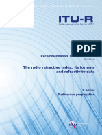 R REC P.453!12!201609 ITU Radio Refractive Index