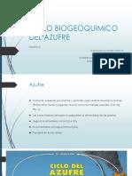 Ciclo Biogeoquimico Del Azufre