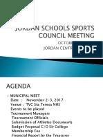 JORDAN SCHOOLS SPORTS COUNCIL MEETING.pptx
