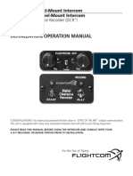 FlightCom 403 Manual