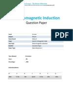 26.1 - Electromagnetic Induction Qp