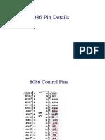 8086 Input Pins
